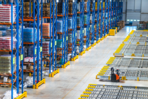 Warehouse audit control system